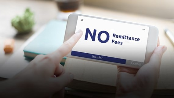 Send money internationally with no remittance fees